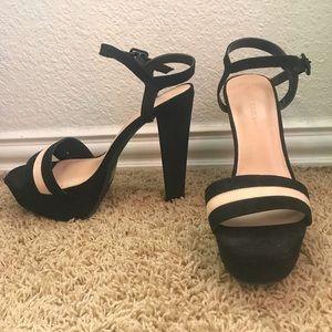 Lola Shoetique black platform heels